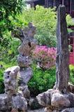 Uma paisagem atrasada do jardim Imagem de Stock