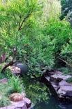 Uma paisagem atrasada do jardim Imagens de Stock Royalty Free