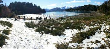 Uma paisagem bonita em Bariloche, Argentina Fotos de Stock