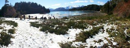Uma paisagem bonita em Bariloche, Argentina Imagem de Stock Royalty Free