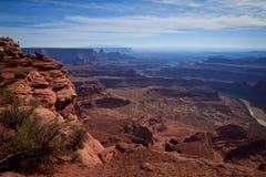 Uma paisagem a começ dentro perdida Foto de Stock