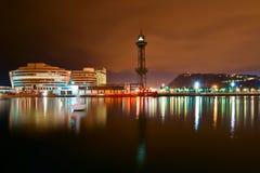 Uma paisagem da noite Fotografia de Stock Royalty Free