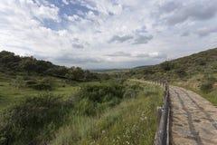 Uma paisagem do vale Foto de Stock