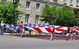 Uma parada de 2011 Memorial Day. Fotos de Stock