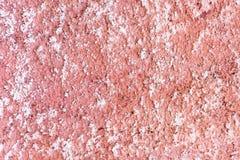 Uma parede cor-de-rosa das fachadas com estrutura foto de stock