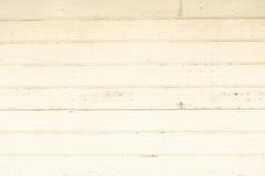 Uma parede de madeira velha branca Imagens de Stock