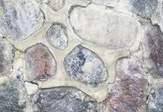 Uma parede de pedra velha Imagem de Stock Royalty Free