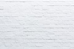 Uma parede de tijolo branca fotos de stock