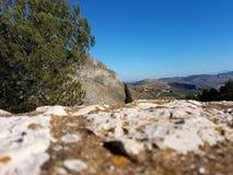 Uma parede espanhola rural foto de stock royalty free
