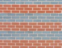 Uma parede modelada listrada Imagens de Stock Royalty Free