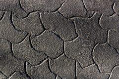 Uma parede preta da pedra Fotos de Stock Royalty Free