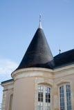 Uma parte bonita da casa de mansão foto de stock royalty free