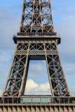 Uma parte da torre de Eifel Imagem de Stock