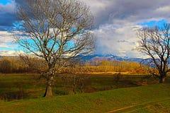 Uma parte de beleza natural disparou ao lado de Rupite - de Bulgária Imagens de Stock Royalty Free