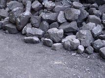 Uma parte de carvão Foto de Stock