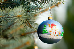 Uma parte de decoração do Natal Fotografia de Stock Royalty Free