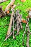 Uma parte de madeira Foto de Stock Royalty Free