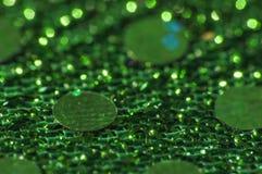 Uma parte de pano de brilho Fotos de Stock Royalty Free