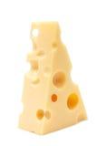 Uma parte de queijo Fotografia de Stock Royalty Free