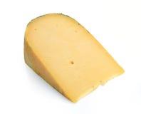Uma parte de queijo imagem de stock royalty free