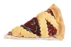 Uma parte de torta Foto de Stock Royalty Free
