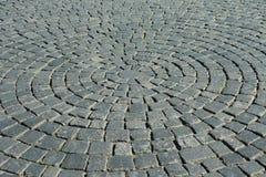 Uma parte de uma estrada pavimentada Imagem de Stock