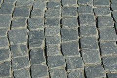 Uma parte de uma estrada pavimentada Foto de Stock