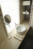 Uma parte do banheiro foto de stock