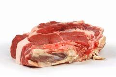 Uma parte fresca de carne principal Foto de Stock