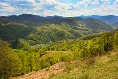 Uma parte pequena de montanhas de Apuseni Fotografia de Stock Royalty Free