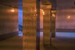 Uma passagem subterrânea pedestre Foto de Stock