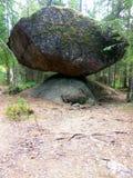 Uma pedra enorme imagens de stock royalty free