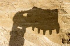 Uma pedreira da areia Fotos de Stock