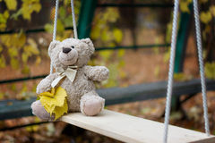 Uma peluche do urso de peluche Imagens de Stock Royalty Free