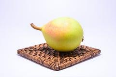 Uma pera madura Fotografia de Stock Royalty Free
