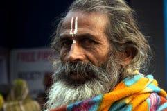 Uma pessoa religiosa Fotos de Stock