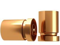 Uma pilha das balas e dos shell da bala Fotos de Stock Royalty Free