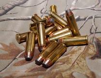 Uma pilha das balas 44spl Fotografia de Stock