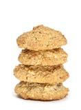 Uma pilha de biscoito recentemente cozido Imagem de Stock Royalty Free