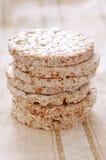 Uma pilha de bolos de arroz Imagens de Stock Royalty Free