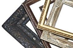 Uma pilha de frames de retrato Imagem de Stock
