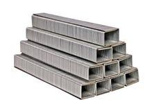 Uma pilha de grampos Foto de Stock