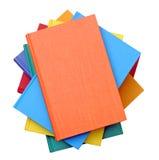 Uma pilha de livros coloridos imagem de stock royalty free