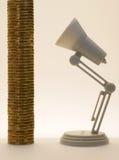 Uma pilha de ouro Imagem de Stock