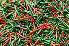 Uma pilha de pimentas de pimentão Imagem de Stock Royalty Free