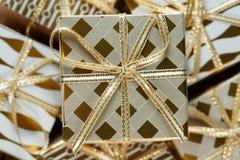 Uma pilha de presentes do Natal Imagem de Stock Royalty Free