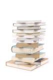 Uma pilha dos livros Fotos de Stock Royalty Free