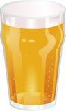 Uma pinta agradável do mal do vetor da cerveja Foto de Stock Royalty Free