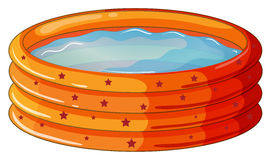 Uma piscina Imagens de Stock Royalty Free