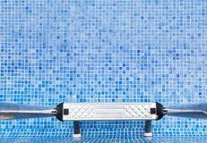 Uma piscina vazia Imagem de Stock
